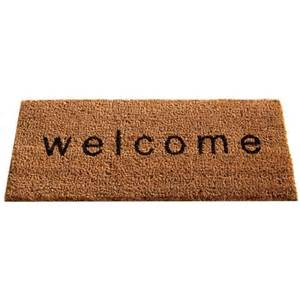gardman welcome doormat insert charlies direct