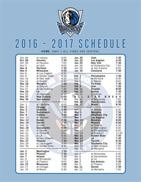 Printable Mavericks Schedule | the 2016 17 mavericks schedule printable and as wallpaper
