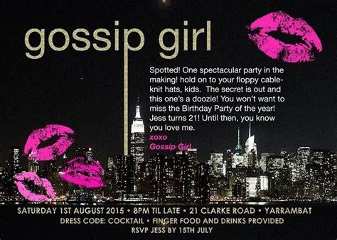 themes gossip girl gossip girl party archives anders ruff custom designs llc