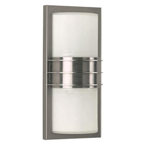 wandleuchte edelstahl wandleuchte edelstahl mit opalglas wohnlicht