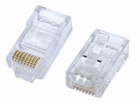 rj45 connector¦ crimp on rj 45 connector for cat5 cable