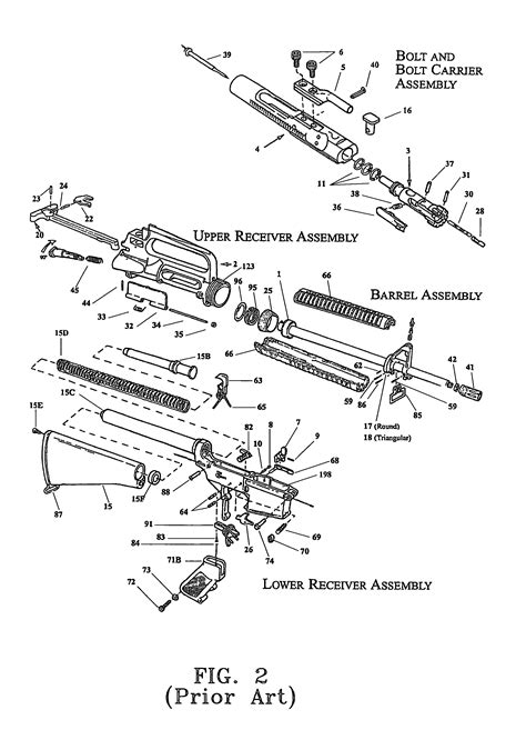 ar 15 parts diagram lower receiver ar 15 receiver exploded view diagram survival