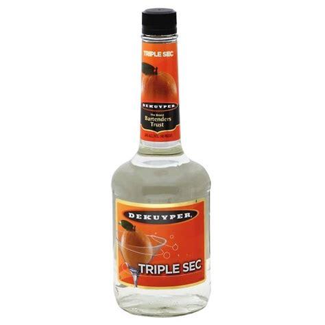 DeKuyper® Triple Sec Liqueur   750mL Bottle : Target
