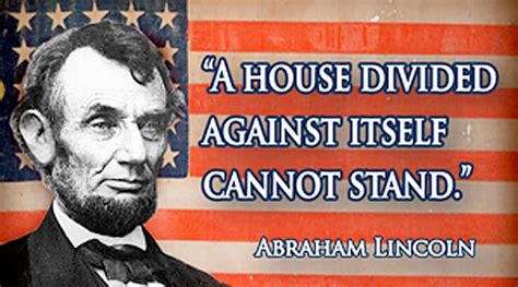 lincoln a house divided new square abraham lincoln quotation fridge magnet a house