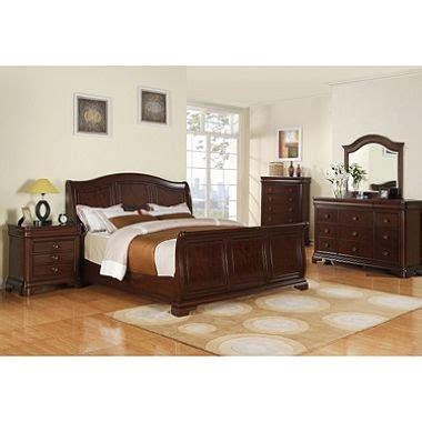 king sleigh bedroom sets conley sleigh bedroom set king 5 pc sam s club