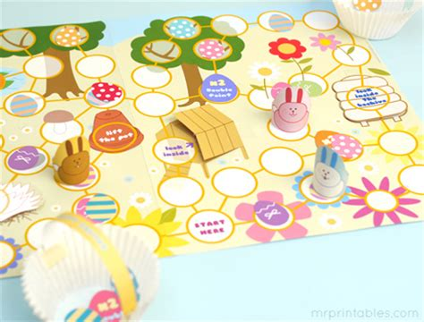 printable easter board games printable game boards new calendar template site