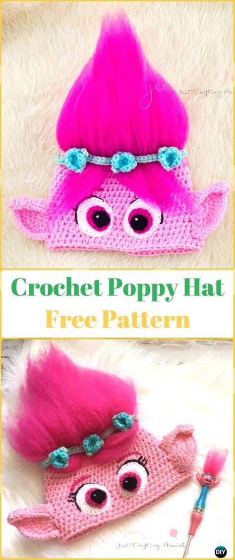 crochet pattern poppy hat just crafting around crochet halloween hat free patterns instructions
