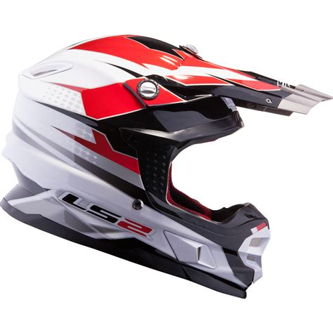 white motocross helmet ls2 mx456 48 white factory motocross helmet atv