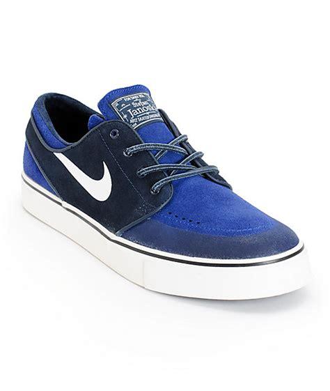 Nike Original Stefan Janoski Royal Blue Idr 1 099 000 nike sb zoom stefan janoski premium se obsidian royal blue skate shoes zumiez