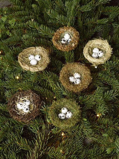 bird nests nests and christmas tree ornaments on pinterest