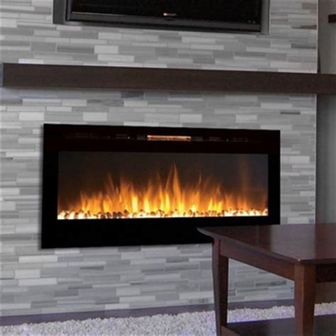 liberty 50 inch electric wall gibson living sydney pebble wall mount electric fireplace reviews wayfair