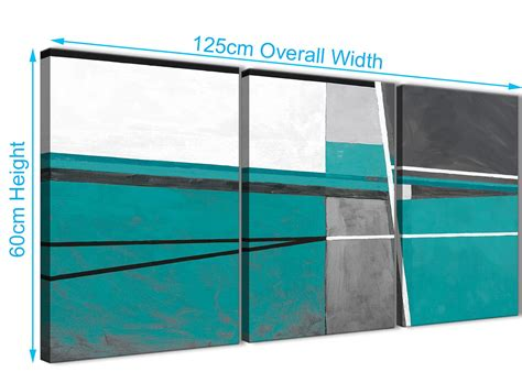 Kitchen Set 3389 3 teal grey painting kitchen canvas pictures