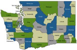 Washington medical alert system service area map