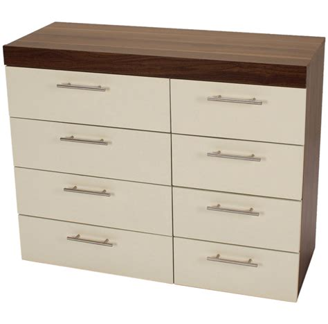bedroom storage cabinets with drawers brooklyn bedside cabinet 8 drawer chest 2 door wardrobe bedroom storage unit new ebay