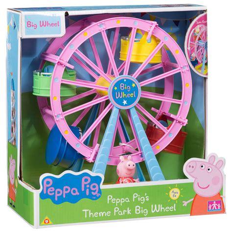 Toddler Bedding Set Peppa Pig Theme Park Big Wheel Animal Toys Amp Play Sets