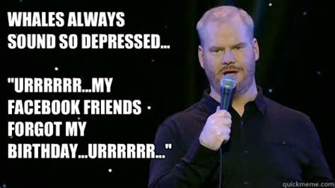 Forgot Your Birthday Meme - whales always sound so depressed quot urrrrrr my facebook