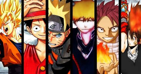 U Anime Characters by Best Anime Characters List Of Top Favorites In