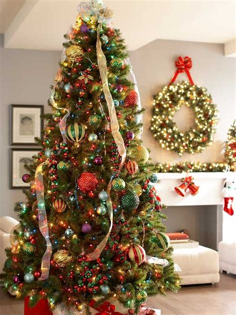 simply decorated christmas trees 40 easy tree decorating ideas