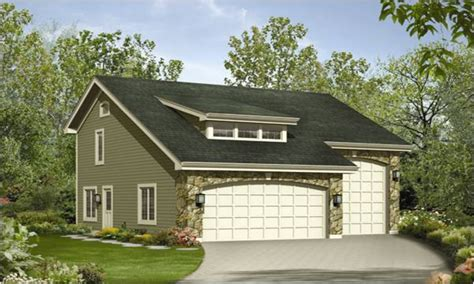 House Plans With Detached Garage Apartments