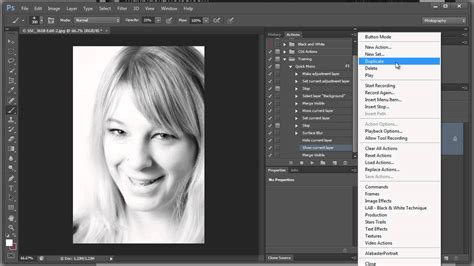 how to make a black and white photo color creating a black and white then editing it in
