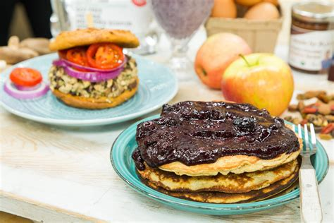recipes home family protein pancakes hallmark channel