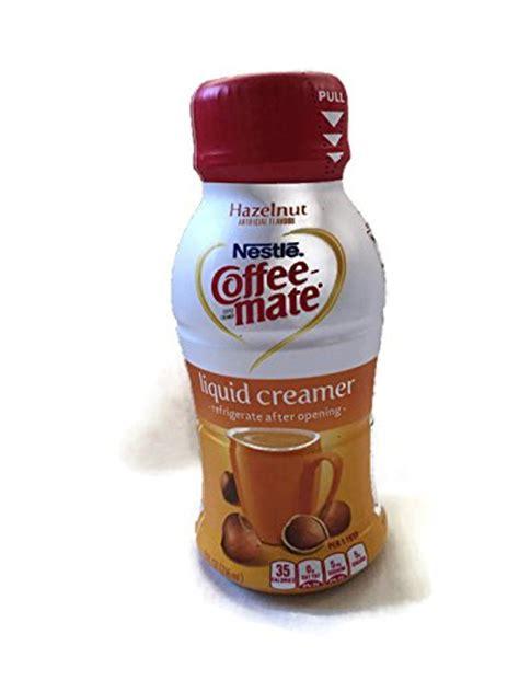 Coffee Mate Shelf by Coffee Mate Hazelnut Liquid Creamer 8 Fluid Ounce Bottle