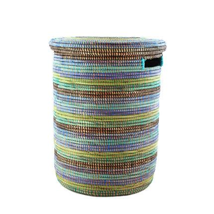 woven laundry with lid woven storage laundry basket flat lid home furniture