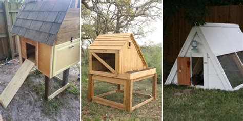 Diy Backyard Chicken Coop by 18 Easy And Cheap Diy Backyard Chicken Coops