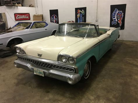 1959 ford fairlane for sale in circleville oh 1959 ford fairlane skyliner retractable convertible for