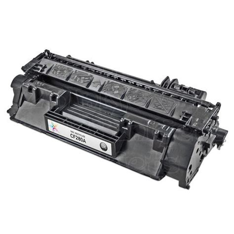 Toner Hp Laser Jet Cf280a Black hp 80a black refurbished toner cartridge cf280a