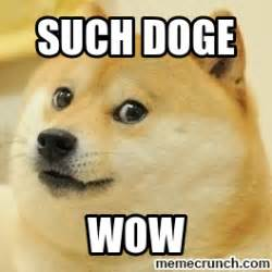 Doge Meme Wow - such doge wow