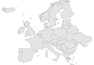 Map Of Europe With Names by Map Of Europe With Country Names Viewing Gallery