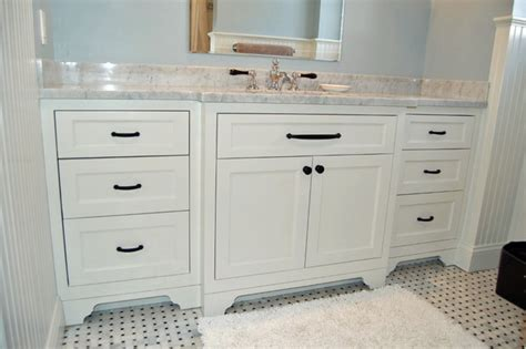 classic white vanity traditional bathroom new york