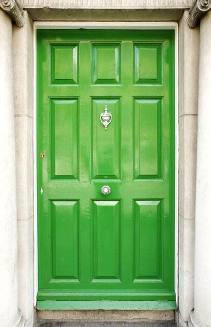 lime green door colorful front doors today