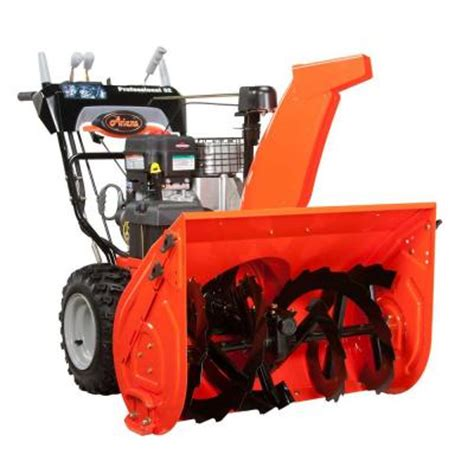 ariens professional series 32 in two stage keyed electric