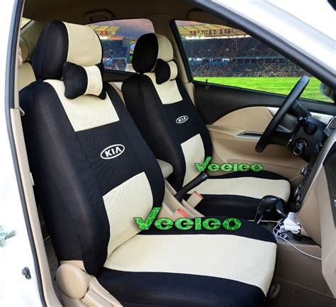 Kia Car Seat Covers Aliexpress Buy Front Rear Customized 5 Seats