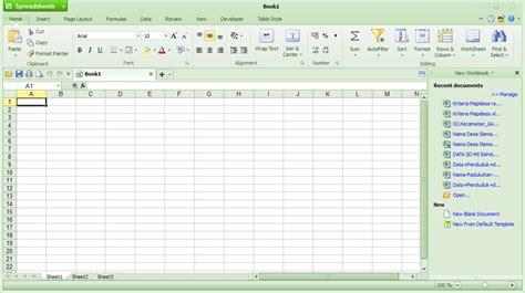 Kingsoft Spreadsheet by November 2012 Cinta Al Qur An