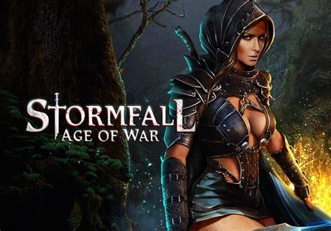 who is the girl in age of war advert stormfall age of war mmohuts