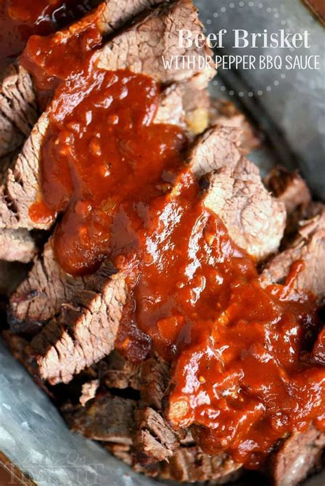 beef brisket with dr pepper barbecue sauce mom on timeout
