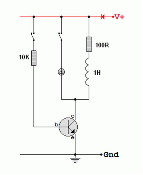inductor back emf protection back emf