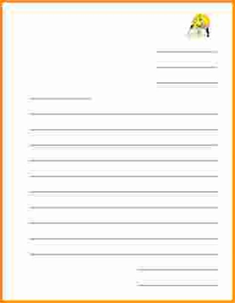 blank letter template letter format 187 friendly letter format for free