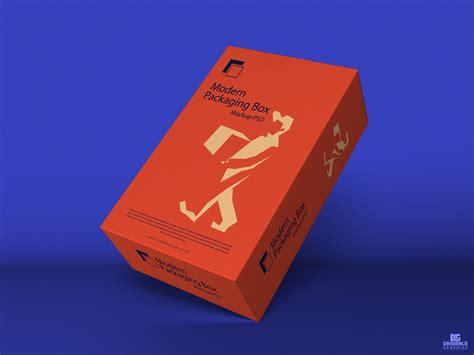 modern packaging box mockup psd  dribbble graphics