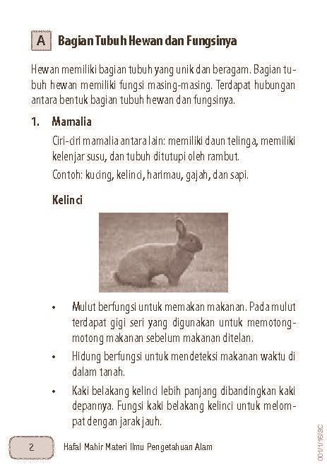 Ringkasan Praktis Latihan Soal Ipa Smpmts hafal mahir materi ipa sd mi kelas 4 5 6 book by aslizar