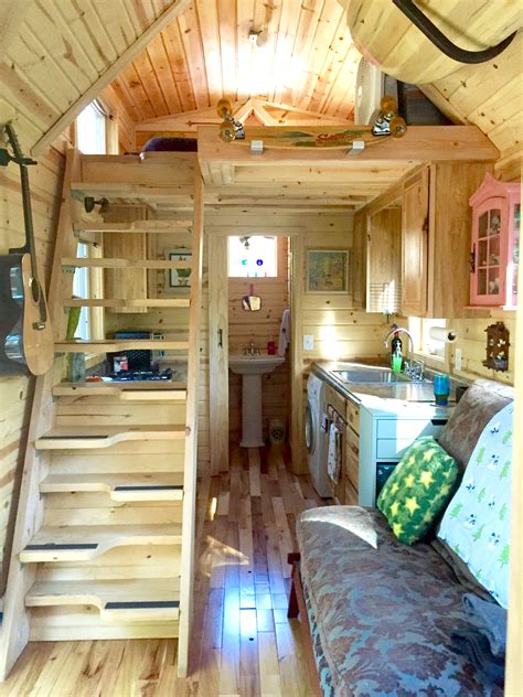 Nice Small Cabin Style Homes #5: Nickis-Victorian-Tiny-House-Interior.jpg
