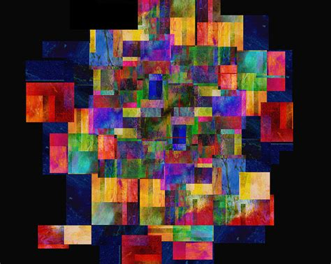 Annepowell Ltd Color Abstract Digital By Powell