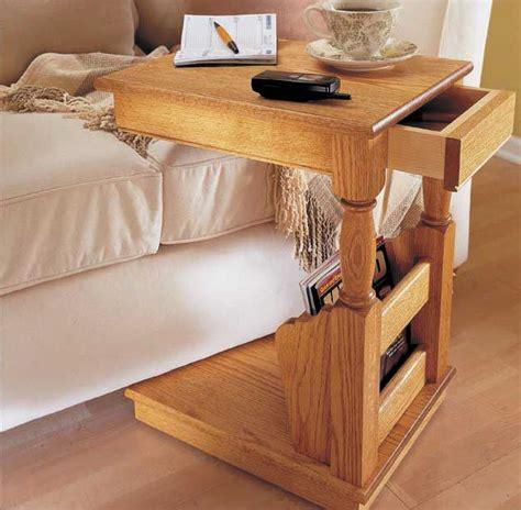 sofa valet woodworking plan woodworkersworkshop