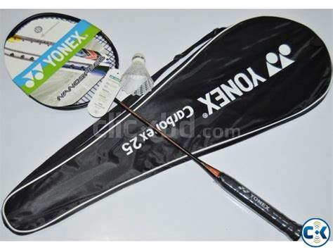 Raket Yonex Carbonex 25 yonex carbonex 25 badminton racket with string clickbd