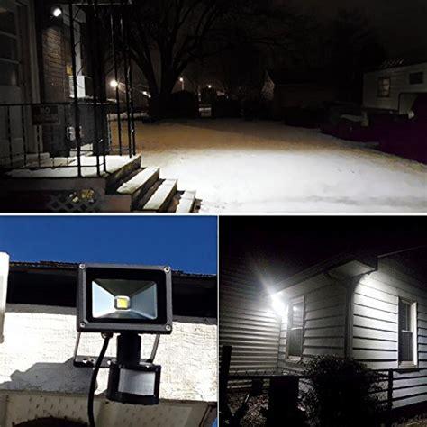 le 100w le 10w bright motion sensor flood light outdoor led import it all