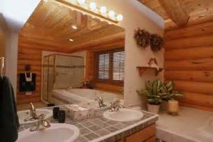 home interior bathroom log home interior photos avalon log homes