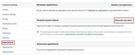 Github Token Tutorial   how to access github content with basic oauth